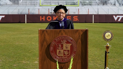Thumbnail for entry Nikki Giovanni dedicates poem to the Class of 2020