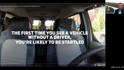 Thumbnail for entry Tech on Tap: Self-driving cars and the future of transportation