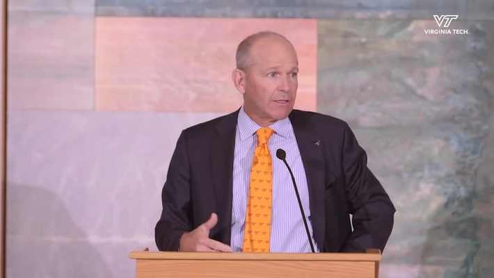 Virginia Tech announces $20 million gift from David Calhoun, class of 1979