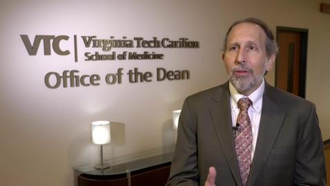 Thumbnail for entry Dean Lee Learman: Why I chose Virginia Tech Carilion School of Medicine