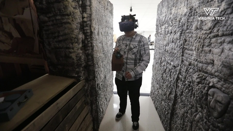 Thumbnail for entry Immersive technology brings  tunnels of Vauquois to Blacksburg
