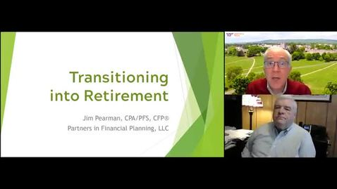 Thumbnail for entry Transitioning to Retirement Webinar