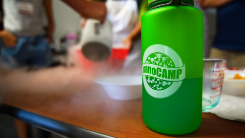 Thumbnail for entry High School students engage in hands-on learning at NanoCamp 2019