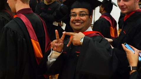 Thumbnail for entry Graduate School Fall Commencement 2019