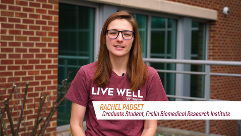 Thumbnail for entry Graduate Student Rachel Padget talks about the Importance of Prevention
