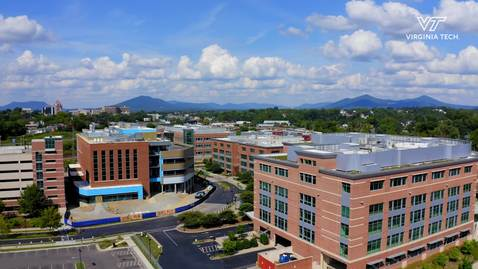 Thumbnail for entry Fralin Biomedical Research Institute expansion melds world-class research and sustainable architecture