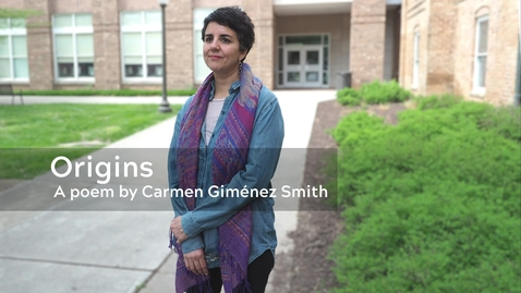 Thumbnail for entry Origins: A Poem by Carmen Giménez Smith