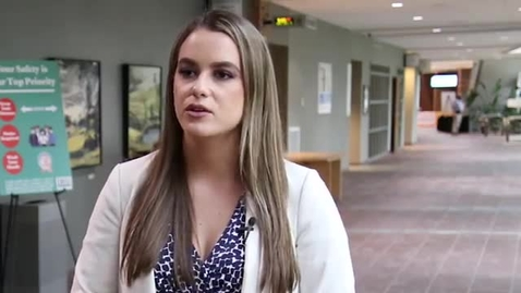 Thumbnail for entry Miss America Camille Schrier '18 offers advice to grads