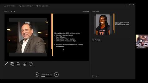 Thumbnail for entry Black Alumni Athletics Roundtable