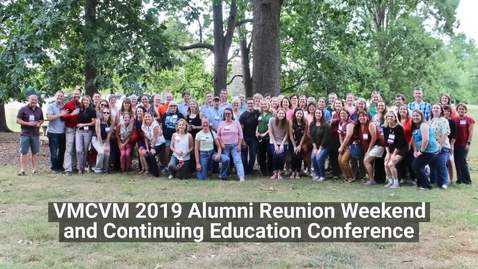 Thumbnail for entry 2019 Vet Med Alumni Reunion Weekend and Continuing Education Conference