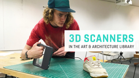 Thumbnail for entry 3D Scanning in Art & Architecture Library