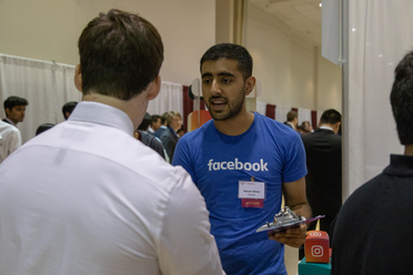 Computer Science Students Attend Career Fair Featuring Employers