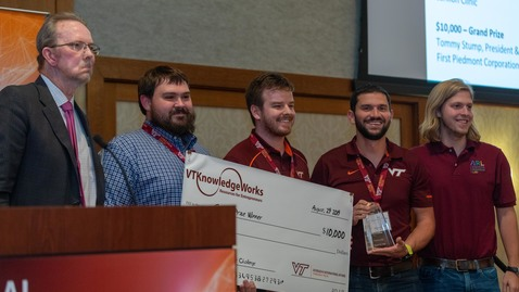 Thumbnail for entry Virginia Tech hosts Global Entrepreneur Challenge for 10th year