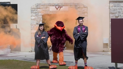 Thumbnail for entry Class of 2020 HokieBirds reveal themselves during online ceremony