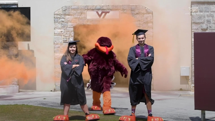 Class of 2020 HokieBirds reveal themselves during online ceremony