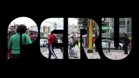 Thumbnail for entry Peru: Students meet the people they're trying to help