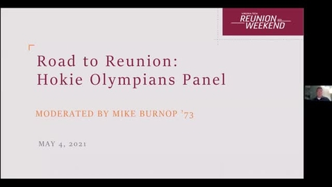 Thumbnail for entry Hokie Olympians Panel