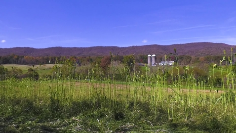 Thumbnail for entry Catawba Sustainability Center studies role that Appalachian custom may have in future of local farms