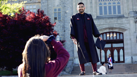 Thumbnail for entry Iconic Traditions: Photographing Hokie Grads