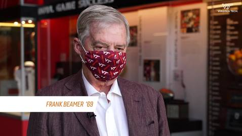 Thumbnail for entry Cornerstone Moment: Alumnus Frank Beamer as a Hokies player