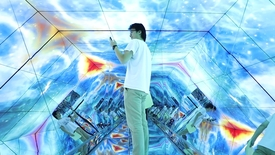 Thumbnail for entry Lockheed Martin debuts The Challenge Box at Virginia Tech