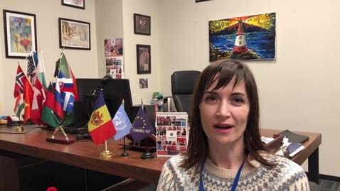 Thumbnail for entry Tatiana Popa from Moldova on training peers