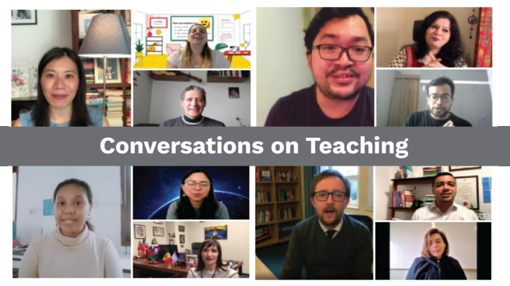 Thumbnail for channel Conversations on Teaching