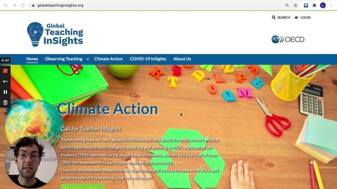 Thumbnail for entry How to Share Your Teaching for Climate Action Insights
