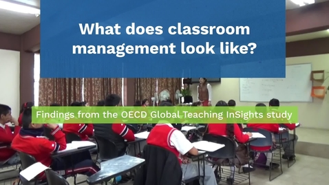 Thumbnail for entry What does classroom management look like in different classrooms?