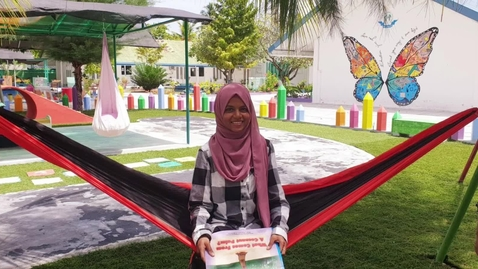 Thumbnail for entry Seenu Atoll School from the Maldives on a creative reading programme