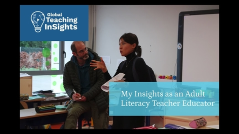 Thumbnail for entry Aletheia Délivré from Canada on remote teaching adult learners