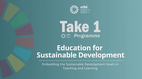 Thumbnail for entry Embedding SDGs into the Irish National Curriculum