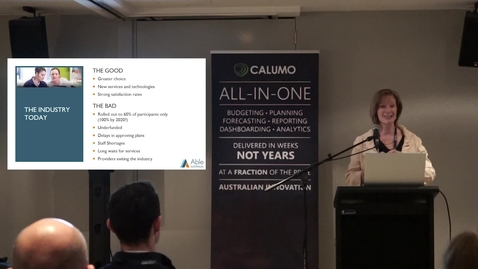 Thumbnail for entry 01. Kate MacRae on Able Australia and CALUMO under the NDIS