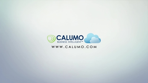 Thumbnail for entry Demo on Budgeting and Reporting with CALUMO