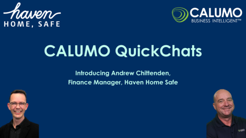 Thumbnail for entry Using finance tools effectively with CALUMO