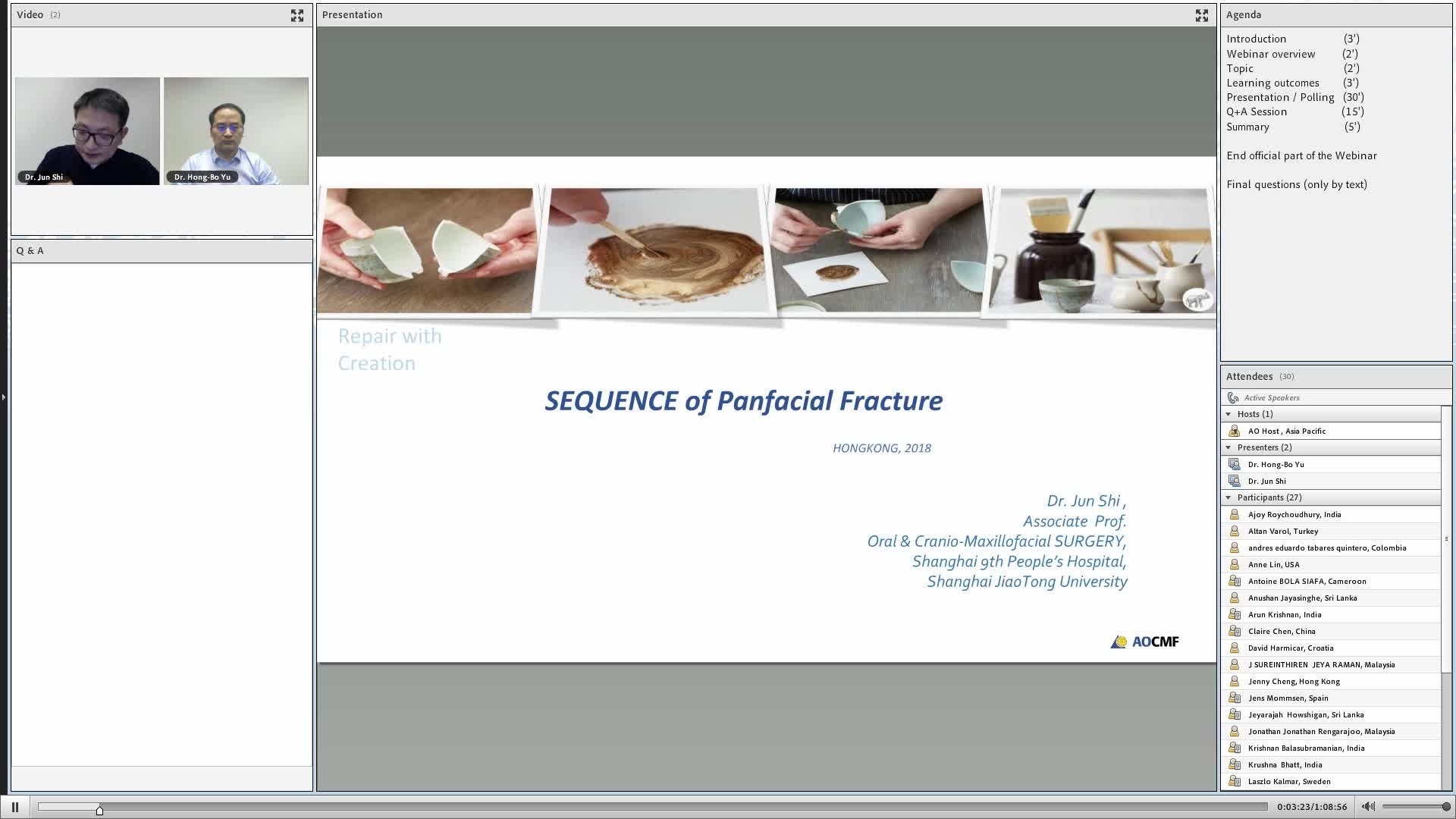 Webinars And Webcasts Using Sequencers Plcsnet Interactive Q A Jun Shi Is Presenting Live Webinar About Panfacial Fractures Sequencing