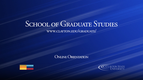 Thumbnail for entry Welcome to Clayton State University Graduate Programs