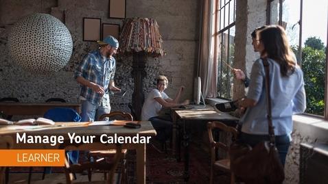 Thumbnail for entry Navigating the Calendar - D2L