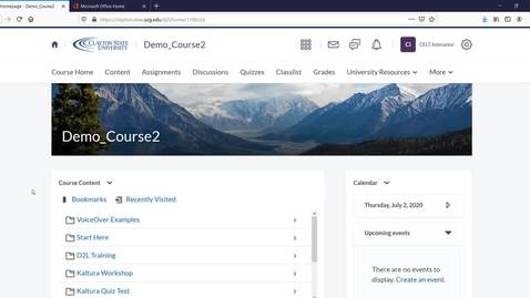 Thumbnail for entry OneNote D2L Integration - Overview Video