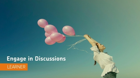 Thumbnail for entry Navigating the Discussions Tool - D2L