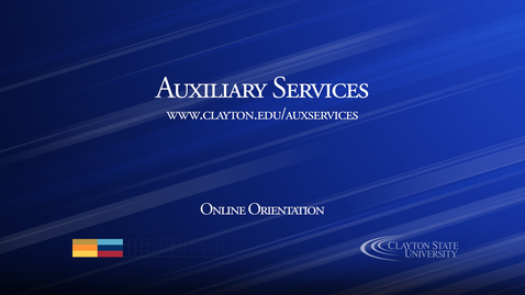 Thumbnail for entry Auxiliary Services