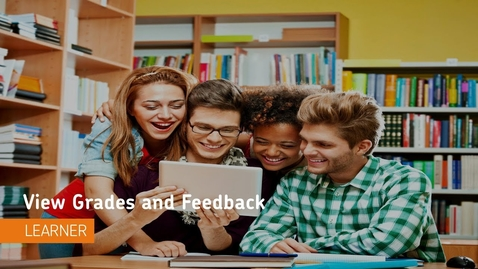 Thumbnail for entry D2L Grades - View Grades and Feedback - Students