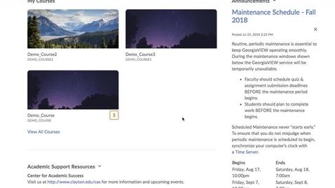 Thumbnail for entry Kaltura - Adding Kaltura Navigation Bar - Instructor