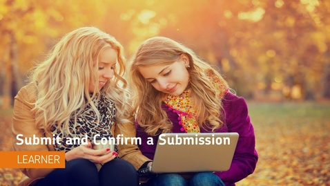 Thumbnail for entry D2L Assignments - Submit and Confirm a Submission - Students