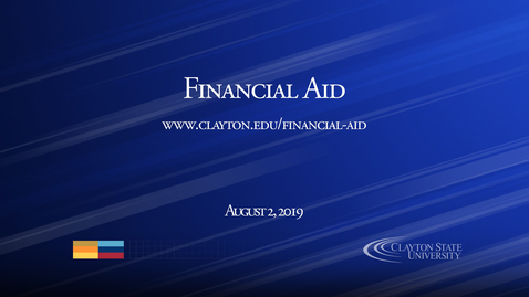 Thumbnail for entry Financial Aid
