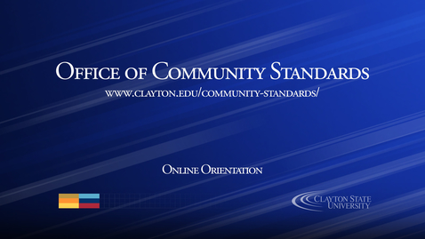 Thumbnail for entry Office of Community Standards