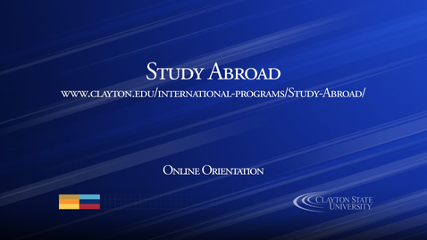 Thumbnail for entry Study Abroad
