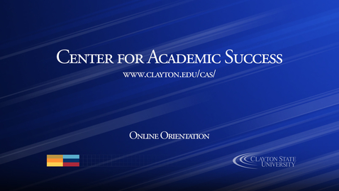 Thumbnail for entry Center for Academic Success