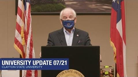 Thumbnail for entry Clayton State University - University Update 07/21