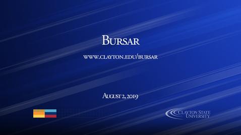 Thumbnail for entry Bursar